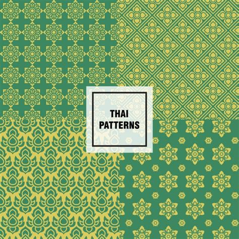abstract pattern vector free download abstract thai patterns design vector free download