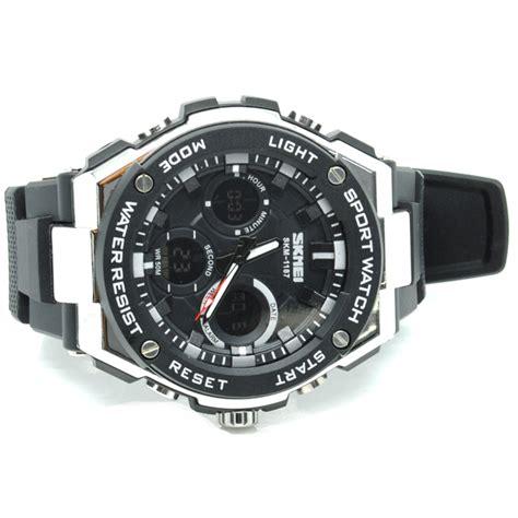 Jam Tangan Arloji Pria A135 skmei jam tangan analog pria ad1187 black white jakartanotebook