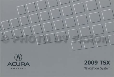 2009 acura tsx navigation system 2009 acura tsx navigation system owners manual original