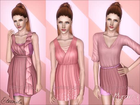 sims 3 basegame clothes and hair my sims 3 blog vibrancy quot showtime female clothes