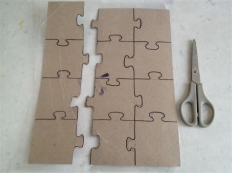 How To Make Paper Puzzle - jigsaw template jigsaw puzzle template puzzle template