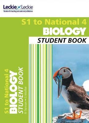 libro national 4 biology secondary biology s1 to national 4 student book billy dickson graham moffat leckie leckie