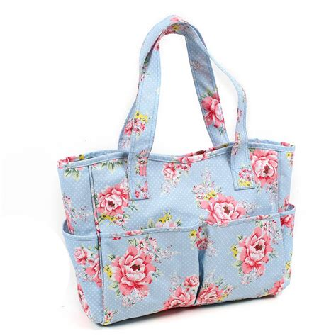 bag crafts craft tote bags uk papermania wheelable craft tote