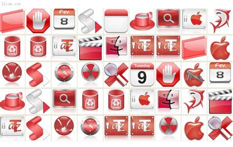 desktop icons themes free download 애플 맥 레드 테마 바탕 화면 아이콘 아이콘 무료 아이콘 무료 다운로드