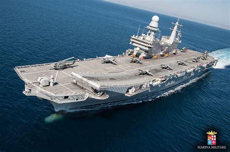 portaerei cavour e garibaldi marina militare la portaerei cavour collabora con il