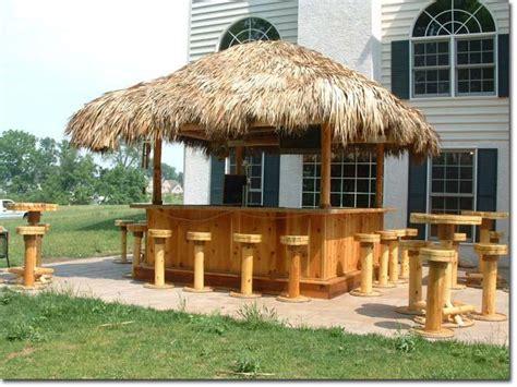 Tiki Hut Bar Plans Deck Design Gallery Tiki Huts And Bars Tiki Bar And Tables