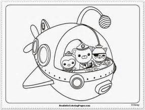octonauts coloring pages octonauts coloring pages realistic coloring pages