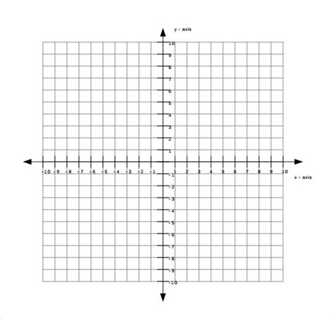 Galerry printable coordinate plane pdf