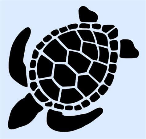 String Stencils - 3 quot turtle stencil stencils turtles animal craft pattern