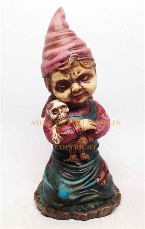 undead garden decor zombie lawn gnome 651 best images about gnomes on pinterest garden gnomes