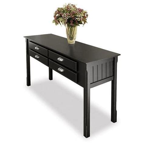 contemporary sofa table black rakuten hbees black finish contemporary sofa