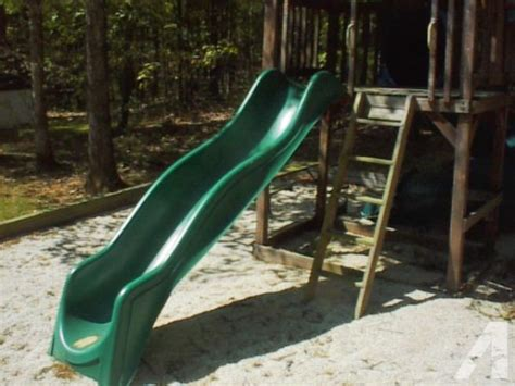 sliding board for swing set large wavy sliding board for outdoor swing set forest