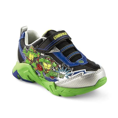 Turtle Light Up Shoes by Toddler Youth Boy S Mutant Turtles Light Up