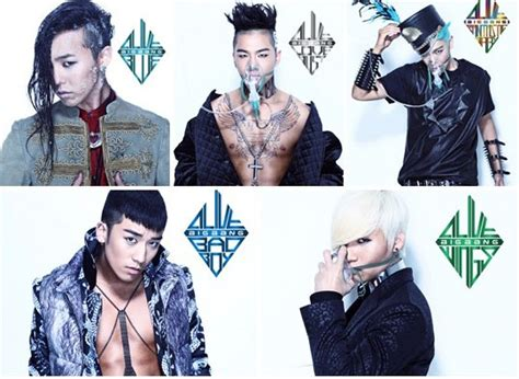 big names korean pop profile members bigbang