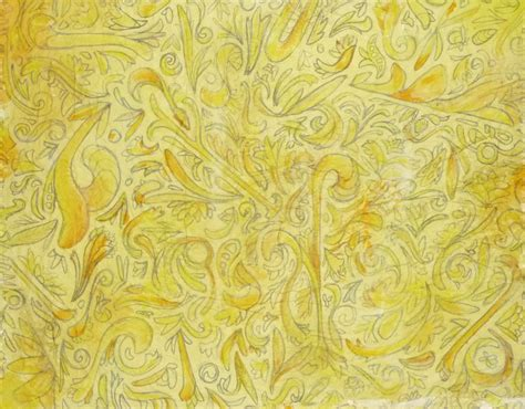 yellow indian pattern background the yellow wallpaper day 1 the little birds fly