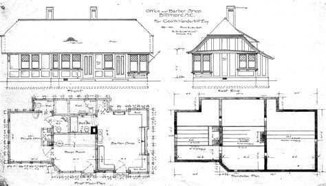 floor plans and elevations office barber shop elevations floor plans biltmore