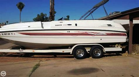 chaparral boats sunesta 232 1998 used chaparral sunesta 232 db deck boat for sale