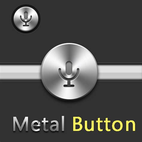 html format link as button metal audio button free vector graphic download