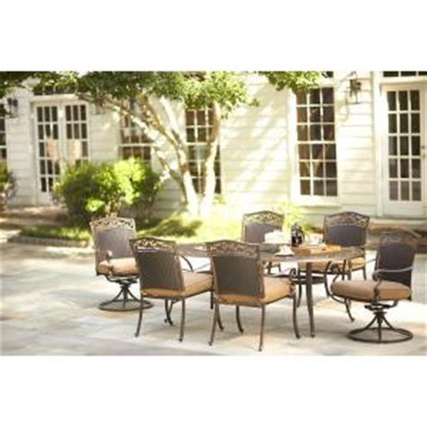 martha stewart 7 patio dining set martha stewart living miramar ii 7 patio dining set with cushions 9011 ovs3 hd the