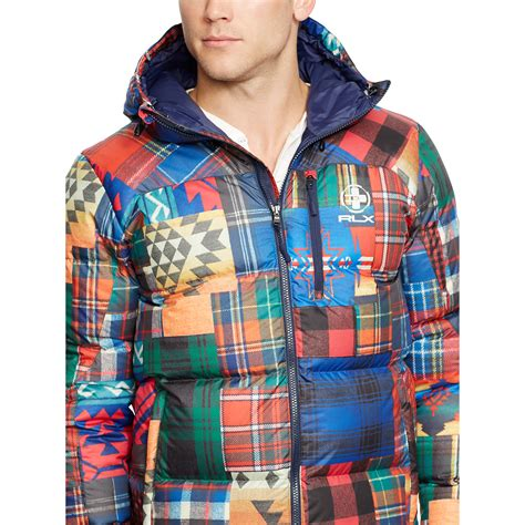 Ralph Patchwork - ralph patchwork jacket for lyst