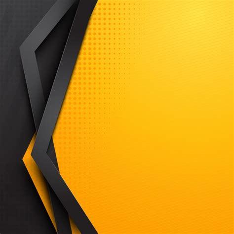 black yellow wallpaper vector abstract yellow background template vector premium download