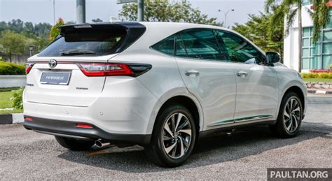 Toyota Harrier 2 0 gallery 2018 toyota harrier 2 0t luxury in malaysia