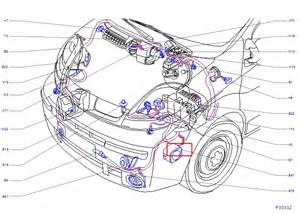 Renault Trafic Engine Diagram Renault Trafic 115 2007 Alarm Siren Location Renault