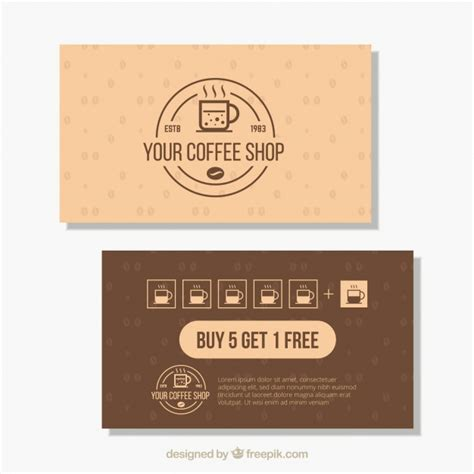 Coffee Loyalty Card Template by Coffee Loyalty Card Template Giancarlosopoinfo Coffee