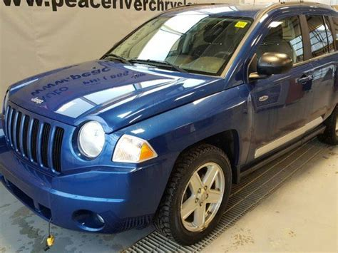2010 Jeep Compass Mpg 2010 Jeep Compass Sport Peace River Alberta Used Car