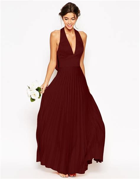 Maxi Vera Maroon burgundy mismatched bridesmaid dresses asos mismatched bridesmaid dresses and the o jays