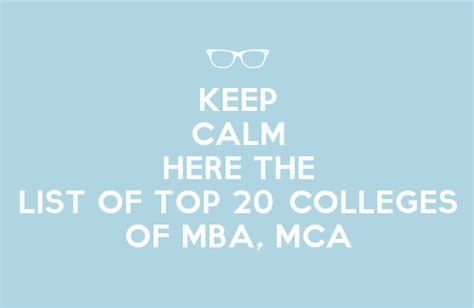 20 Best Mba It Management by List Of Top 20 Colleges Of Mba And Mca Of Uptu