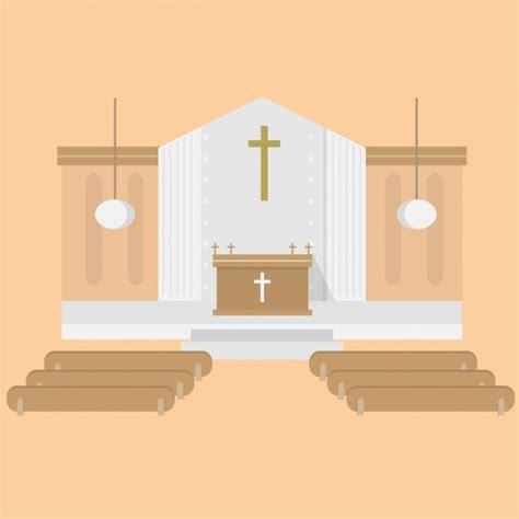 Wedding Background Church by Church Background Design Vector Free