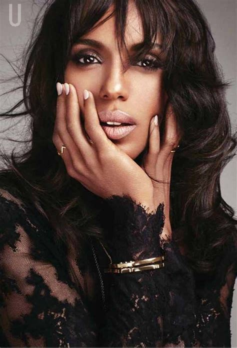 kerry washington hair pin up kerry washington looking ultra sublime in her mid length