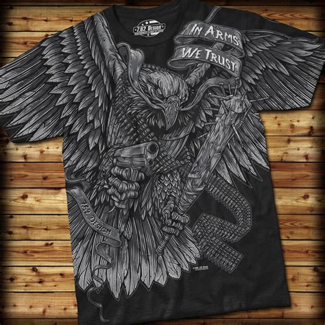 Tshirt Prior Design Bdc in arms we trust t shirt 7 62 design t shirts priorservice