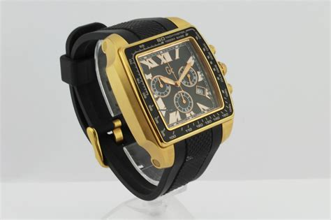 Gc Rubber Chrono Aktif guess collection quartz chronograph black rubber gc 35503ga for 296 for sale from a trusted