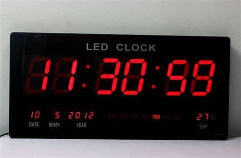 Led Digital Clock digital wall clock with second timer fitness room decor best wall clocks