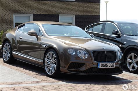 bentley continental 2016 bentley continental gt speed 2016 11 july 2015 autogespot