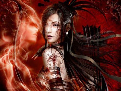 imagenes anime mujeres guerreras guerreras quot lindas im 225 genes de fantas 237 a y mas para