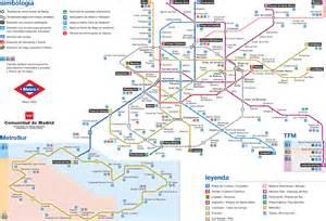 madrid metro map zones metro madrid map