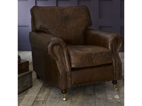 Vintage Leather Chair by Berkeley Vintage Leather Chair Leather Armchairs