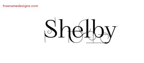 Shelby Archives Free Name Designs Shelby Lettering Template