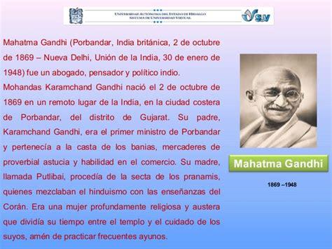 imagenes de la vida de gandhi act 2 5 la vida de mahatma gandhi obed hernandez
