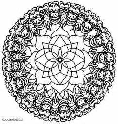 Galerry flower kaleidoscope coloring pages