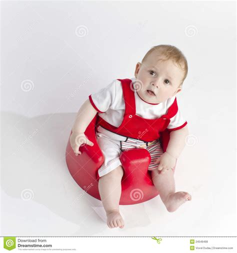 cute young boy royalty free stock photography image cute young baby in chair royalty free stock photos image