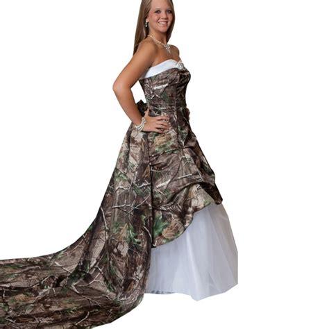 White Camo Wedding Dresses by Camo Wedding Dresses Dressed Up