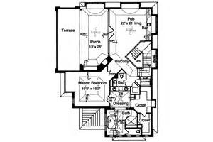 hillside home plans view