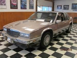 89 Cadillac Eldorado 1989 Cadillac Eldorado For Sale Classiccars Cc 663867