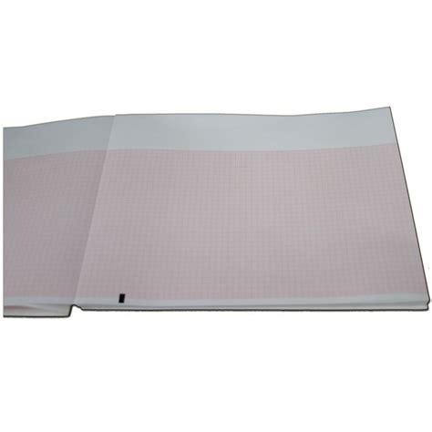 Folding Chart Paper - 9100 026 50 mortara z fold ekg chart paper beck