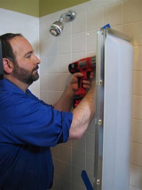 replace shower doors how to replace a shower door how tos diy
