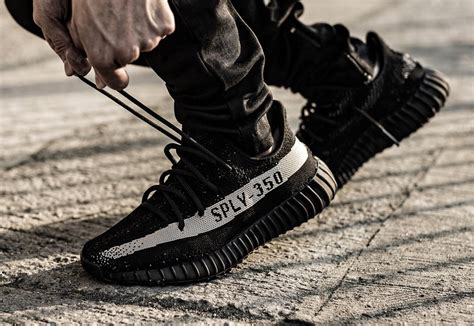 Adidas Yeezy 350 Boost V2 White Kick the adidas yeezy boost 350 v2 black white is dropping this weekend kicksonfire